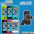 Genuine Lifeproof Fre waterproof case + Lifeactiv Belt Clip mount iPhone 5 5S