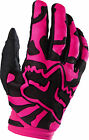 Fox Racing Womens & Youth Black/Pink Dirtpaw Dirt Bike Gloves MX ATV 2016
