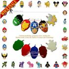 1pcs Avengers Super Hero PVC Pendant Fit for Keychains & necklace & Bracelet