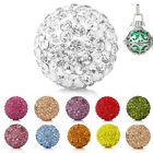 1PC Mexican Rhinestone Box Harmony Angel Beads Caller Music Chime Ball 18mm