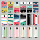 Tirita Lines Shabby Chic Striped Case Hard Cover For Samsung