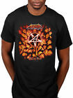 Official Anthrax Worship Music T-Shirt Rock Amoung The Living Fistful Of Metal
