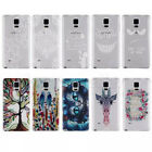 Painted Various Pattern Phone Back Hard Skin Case Cover F Samsung Galaxy Note 4