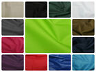 "Soft Water Repellant PU Polyester Fabric - Plain Solid - Material -59"" (150cm)"