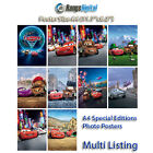 Disney Cars 2 2011 HD Photo Poster RD-9064 (A4 11.7x8.2 Inch)