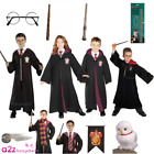 BOYS GIRLS HARRY POTTER LICENSED DELUXE FANCY DRESS COSTUME ROBE ACCESSORY KIDS