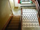 Berber Nile Ivory Hand Woven Wool Rug in various sizes