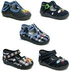 Boys canvas shoes trainers infants kids sandals slippers size 3 - 9 UK NEW