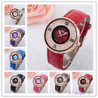Fashion Colorful Women Rhinestone Watches Women Dress Watch Leather Watches