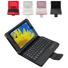 FM01 Detachable Bluetooth Wireless Keyboard Leather Case for Apple iPad Mini US1