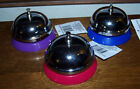 SERVICE BELL - Metal w/Plastic Base - Choose Your Color! - NWT!