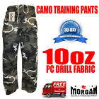DRAGON GREY CAMO GYM WORKOUT / FIGHT PANTS - weight lifting krav maga military