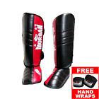 MORGAN V2 PROFESSIONAL SPARRING SHIN PADS - guards muy thai kickboxing MMA