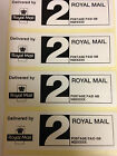 Royal Mail PPI 2ND  CLASS  Self adheisive Labels, Printed with your details