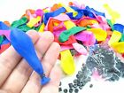 UK STOCK 120 Water Balloon refill Pack With O Rings party Magic Self Tying Bombs