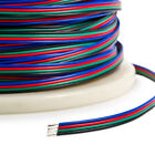 5/10/20m 4 Pin 5050 3528 LED RGB Strip Extension Connector Cable Wire