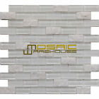 "Glass and Stone Mosaic Tile, ""Freeze Collection"" GM 2102 - Brick, 1""X2"""
