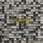 "Glass, Stone, and Metal Mosaic Tile, ""Vermont Collection"" GM 3101 - Square"