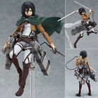 Attack On Titan Action Figure Shingeki No Kyojin Mikasa Ackerman PVC Figma Anime