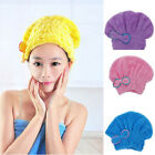Microfiber Magic Hair Dry Drying Turban Wrap Towel/Hat/Cap Quick Dry Dryer Bath