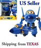 Jerome - Auldey Super Wings Transforming Plane Toy Robot  / USA SELLER
