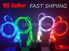LED light-up USB charger cable cord  FOR use with iphone 5S