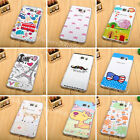 Cute Cartoon Painted Patterned Soft TPU Back Cover Skin Case For Samsung Galaxy