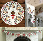 Christmas Tree Skirt Decoration / waterproof pvc oilcloth Tablecloth / Bunting