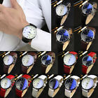 Couple Luxury Fashion Watch Womens Mens Waterproof Analog Quartz Wristwatch