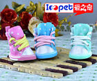 Ioopet Fashion Dog Boots Colorful Dot Pattern Cotton Dog Shoes XS-XL 5 Size