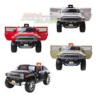 12V Licensed Hummer Electric Kids Ride on Car Jeep Car Parental Control MP3 Jack