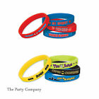 Batman Spiderman Superhero Boys Birthday Party Bag Fillers Loot Bag Wrist Bands