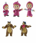 Bullyland Comansi Masha And The Bear Toy Figure Cake Topper Toppers
