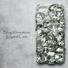 DD Clear Bling Crystal Rhinestone Hard Skin Case Cover For iPhone LG Motorola