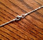 """Bar & Bead Chain Necklace - Sterling Silver 16"""" 18"""" 20"""" 22"""" 24"""" 26"""" 28"""" 30"""" [YG]"""