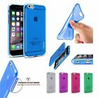 NEW RUBBER SOFT SILICONE GEL SKIN BUMPER TPU CASE COVER FOR APPLE IPHONE 6 6S