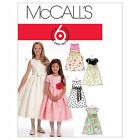 McCalls 5795 EASY Girls Party Bridesmaid Dress Sewing Pattern 3-14 Years M5795