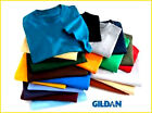Gilden Blank Adult Heavy Cotton T-Shirt  100% Cotton All Colors & Sizes New