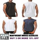 PRO CLUB SLEEVELESS T SHIRTS MENS HEAVYWEIGHT MUSCLE TANK TOP BIG AND TALL M-7XL image