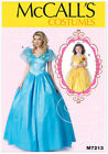McCalls 7213 Child OR Adult Fairy Princess Fairytale Costume Dress Pattern M7213