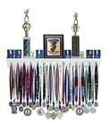 3' Medal Award Display Rack and Trophy Shelf