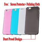 iPhone 6s  6 & Plus Case For Apple -New Ultra Slim Matte TPU Silicone Case Cover
