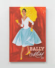 Stretched Wall Art Canvas 120 x 80cm Bally Miss Canvas Print Printed Canvas