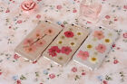 Fashion Pressed Flower Clear Hard Back Phone Case Cover For iphone 6/6 plus 5S