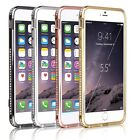 Luxury Diamante Phone Shell Metal Mobile Phone Case For iPhone 6 / iPhone 6 Plus