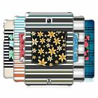 HEAD CASE DESIGNS FLORAL STRIPES HARD BACK CASE FOR SAMSUNG TABLETS 1
