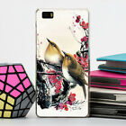 Chinese style Fashion Paint Pattern Hard Back Case Cover Skin For Huawei Phone