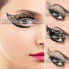 BLACK EYE SHADOW EYELINER EYE ROCK TEMPORARY TATTOO PARTY INSTANT MAKEUP STICKER