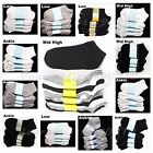 Kids Crew Ankle Socks Lot Toddler Boy Girl Black White Gray 0-12 2-3 4-6 6-8