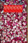 Personalised Mini Love Hearts Sweets RED HEARTS birthday any age party bags fill